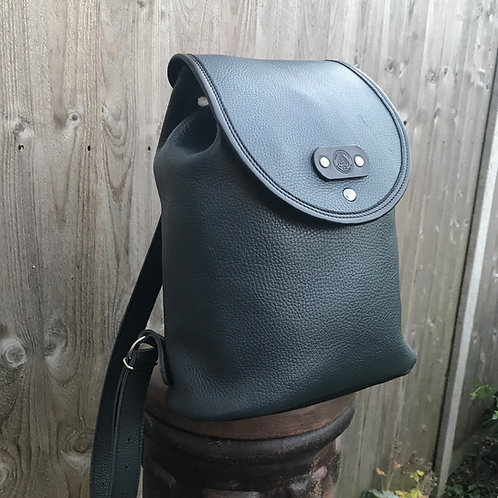 Freya leather backpack bag