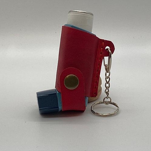 Leather Inhaler case/holder