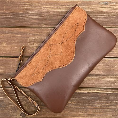 Western style clutch / purse