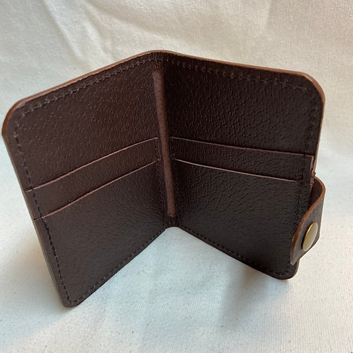Bailey Wallet - Brown Pig Skin