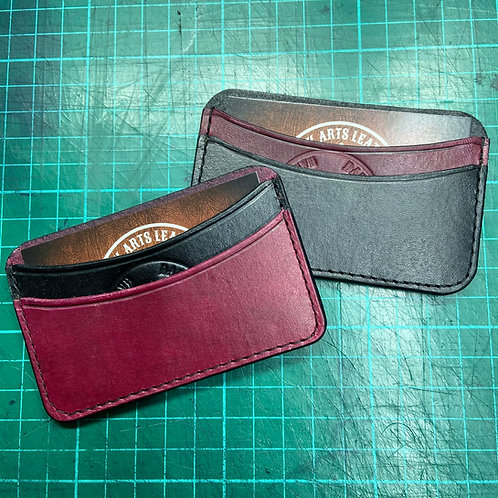 Double Card Holder - Two Tone