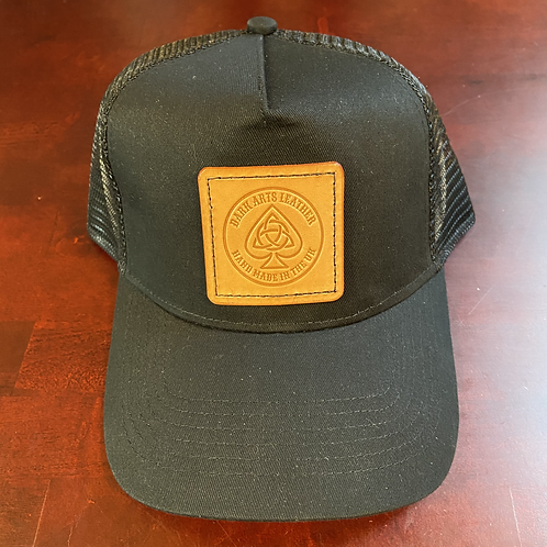 Trucker Cap with leather Patch