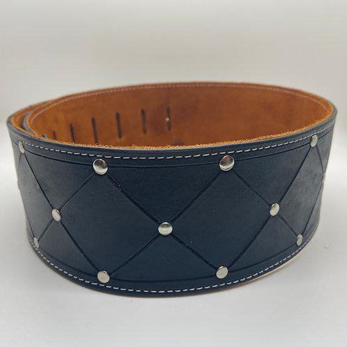 Handmade Leather Guitar Strap - Studded
