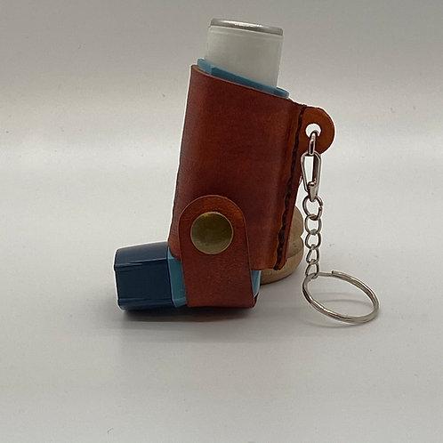 Deluxe Leather Inhaler case/holder