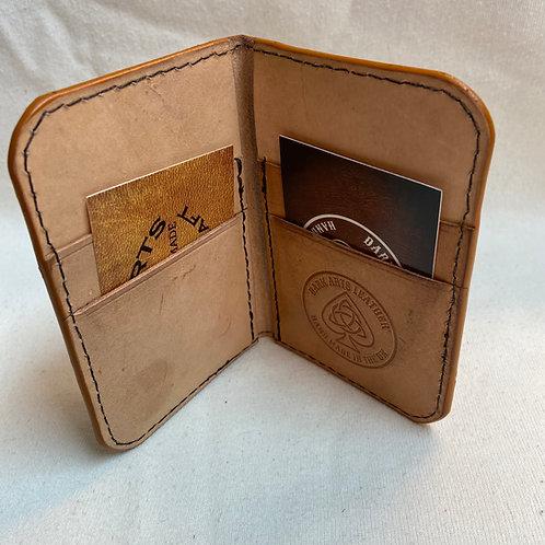 Barnum Wallet - Natural (patina) - Slight Second**