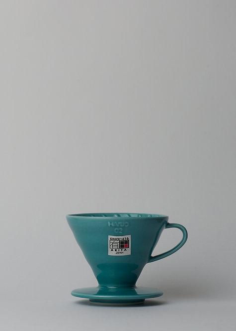Ceramic Blue Dripper