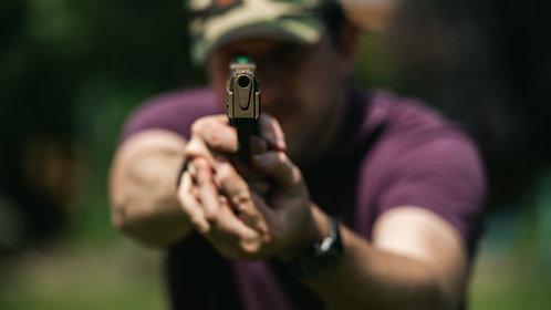 Weihrauch HW45 Black Star Spring - Over Lever Pistol