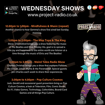 Tuesday on project:Radio