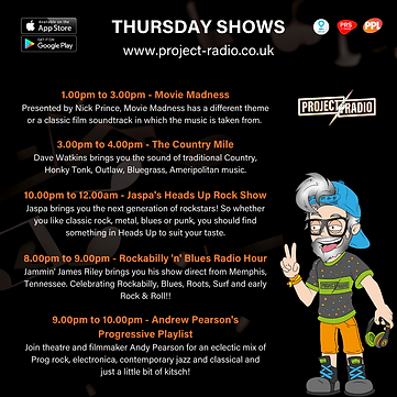 Thursday on project:Radio