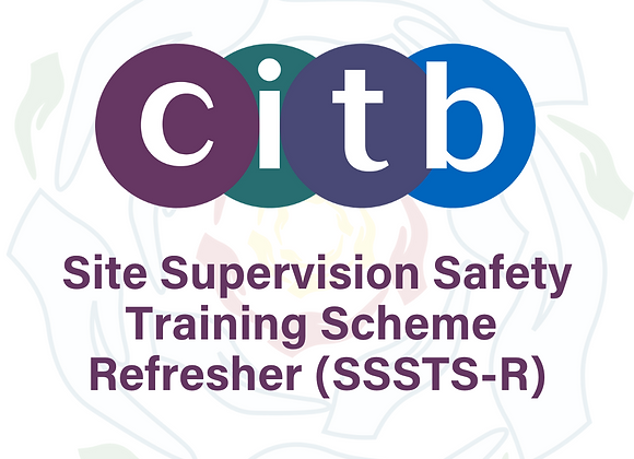 copy of Site Supervision Safety Training Scheme Refresher (SSSTS-R)