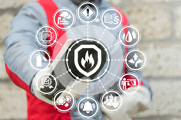Industrial Smart Automatic Fire Control