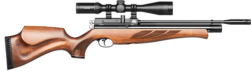 AIR ARMS S410 Rifle Superlite Traditional Brown