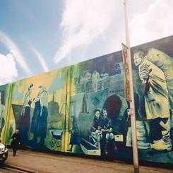 HCC Hessle Road Mural Unveling - Saturda