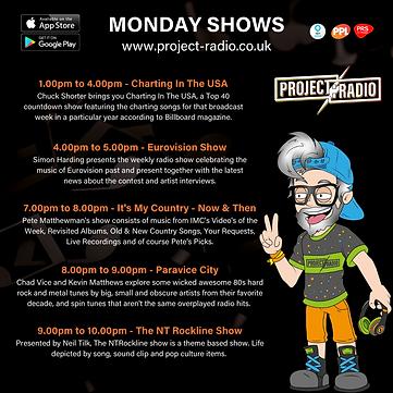 Monday on project:Radio