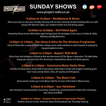 Sunday on project:Radio
