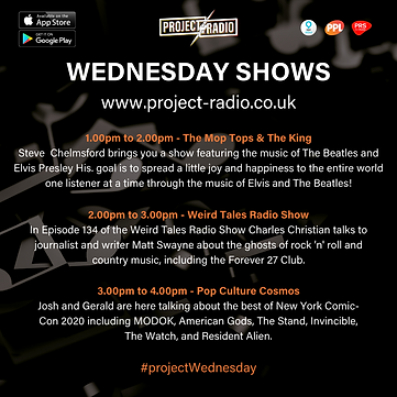 Wednesday Shows