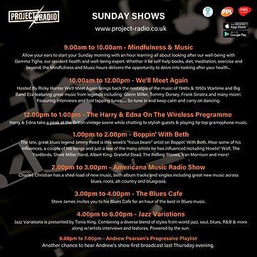 Sunday Shows