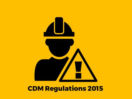 Construction Design Management Regulations 2015