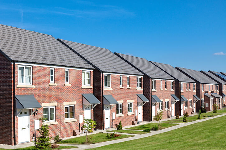 Row of new houses, England.jpg