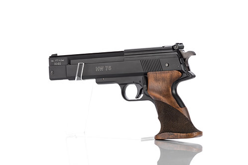 Weihrauch HW75 Single stroke pneumatic - over lever Pistol