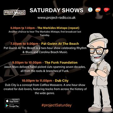 Saturday on project:Radio
