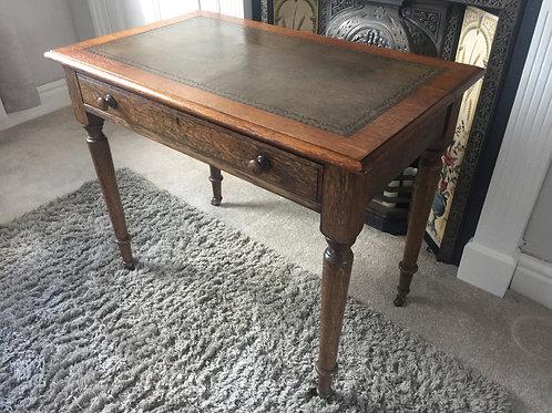 Oak Writing Table                      £225.00