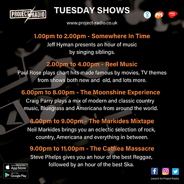 Tuesday Shows