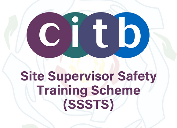 copy of CITB Site Supervisor Safety Training Scheme (SSSTS) - Two Days