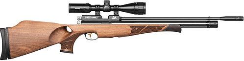 AIR ARMS S400 Rifle Walnut Thumbhole