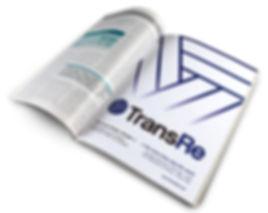 TransRe print ad