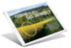 Bunge 2016 sustainability report online on tablet