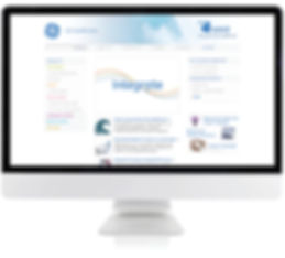 Wavw Biotech website on monitor