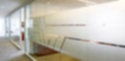 TransRe office area branding
