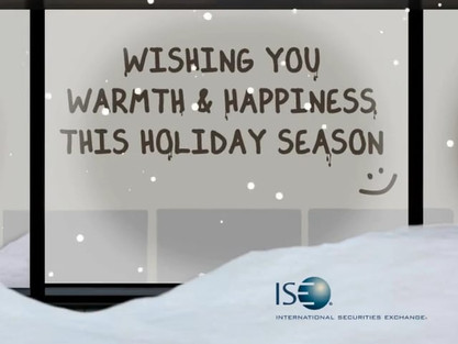 International Securities Exchange - 2013 Holiday E-card