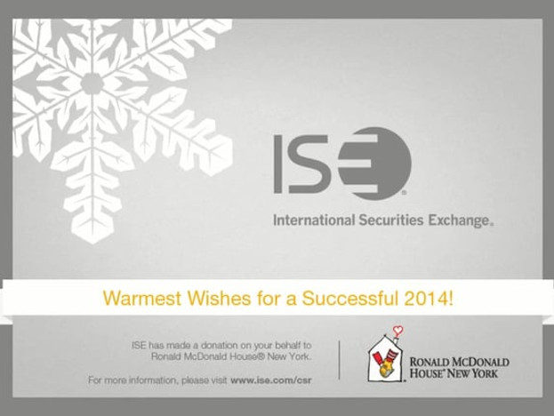 International Securities Exchange - 2014 Holiday E-card