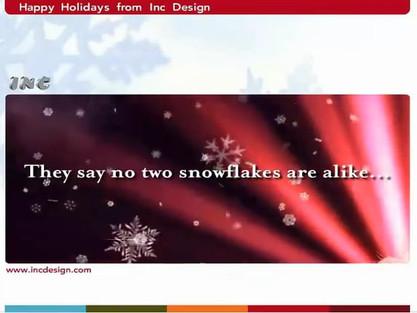 Inc Design - 2007 Holiday E-card