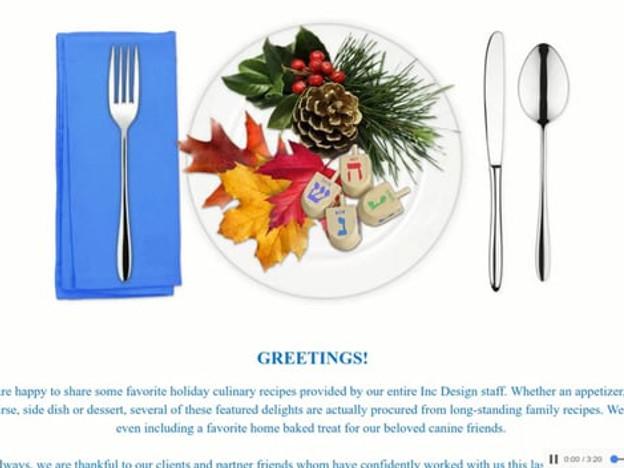 Inc Design - 2016 Holiday E-card