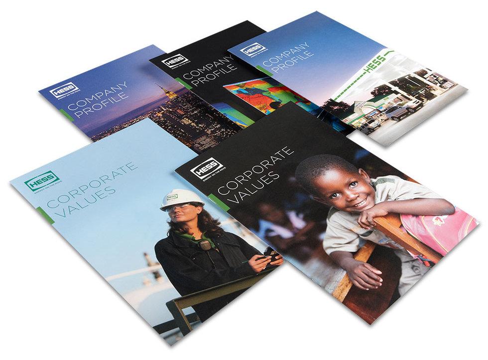 Hess company profiles print