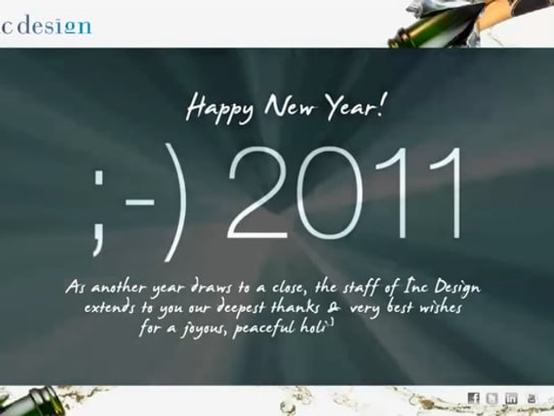 Inc Design - 2011 Holiday E-card