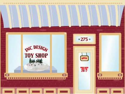 Inc Design - 2003 Holiday E-card