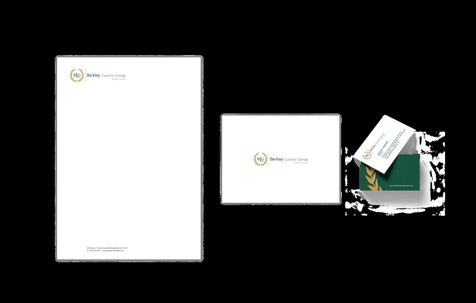 Berkley Luxury Group-Brand Id-letterhead