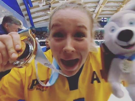 Universiade 2019: guld till tjejerna!!!