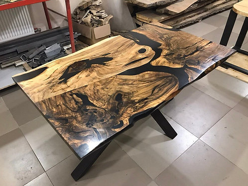 Spalted Walnut Dining Table - Coffee Table