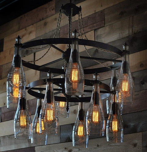 The Sonoma - Tiered Chandelier