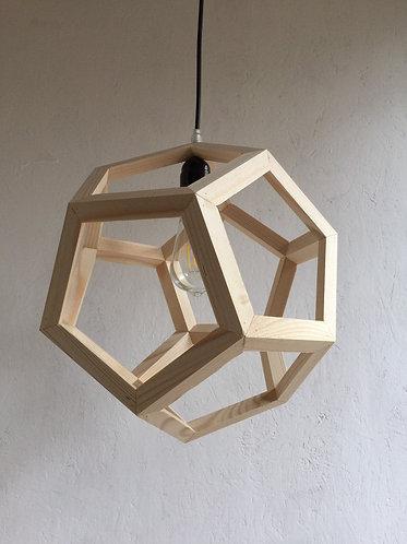 Fir Polyhedron Pendant Lamp