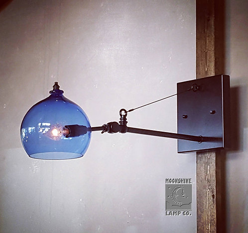 The Clovis Industrial Style Wall Sconce