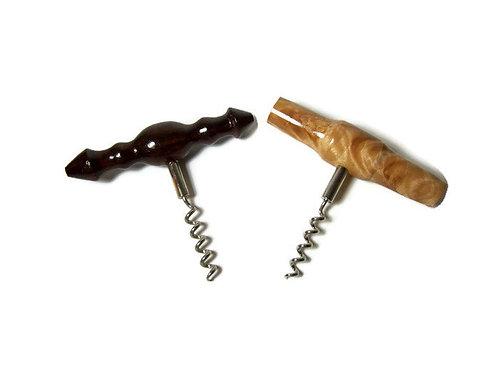 Rustic Corkscrew Wine Opener
