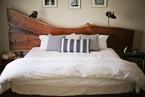 Modern Rustic Live Edge Bed