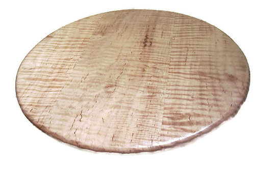 Tiger Maple Lazy Susan