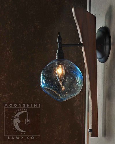 The Cambria Wall Sconce - Handblown Glass